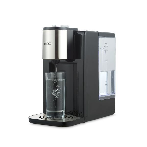 Moa Instant watercooker / boiler Black/Zilver edition KT 2210