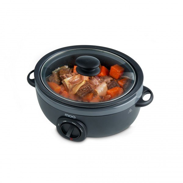 Slowcooker 6,5 liter - Graphiet