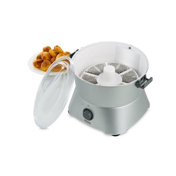 MOA Elektrische Aardappelschiller Zilver MOA09S