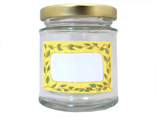 Jam Jar Labels 'Leaf It Out'