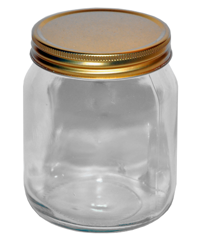 1lb Traditional Honey Jars
