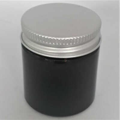 30ml Cosmetic Ointment Amber Squat Jars