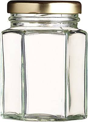 190ml 8oz Hexagonal Jar