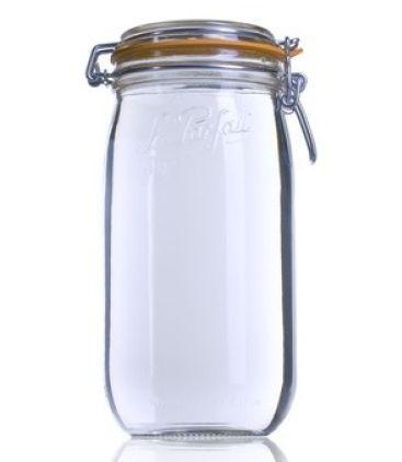 12 x 1.5 Litre Clip Top Le Parfait Jar