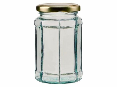 Bulk Buy 280ml 12oz Octagonal Jar