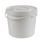 5 ltr White Pails Pack of 15