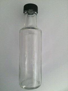 100ml Dorica Bottle with Black Cap