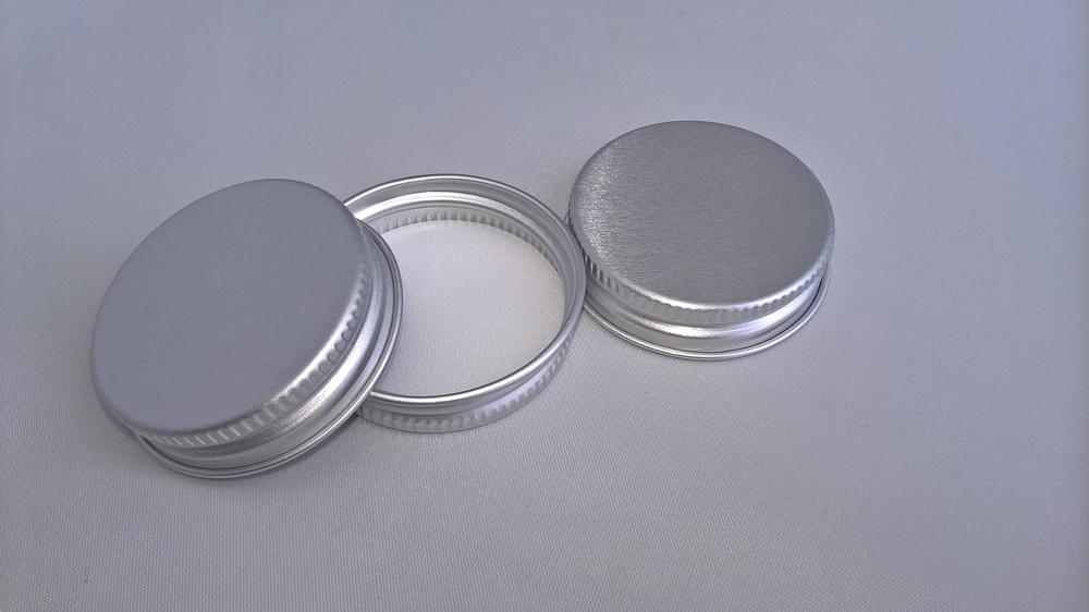 38mm Silver Aluminium Lids