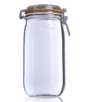 1.5 Litre Clip Top Le Parfait Jar