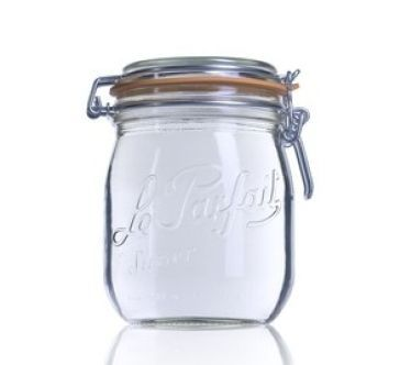 750ml Clip Top Le Parfait Jar