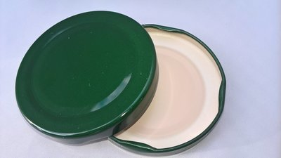 63mm Green Lids