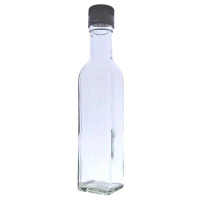 250ml Marasca Bottle with Black Cap