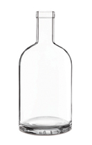 250ml Nocturne Bottle with cap cork