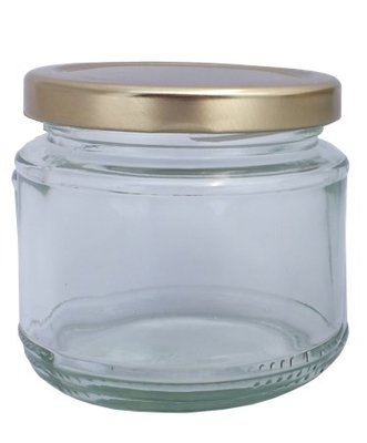 Bulk Buy 200ml Round Squat  Jar