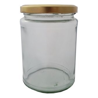 500ml 17.5oz Round Jar