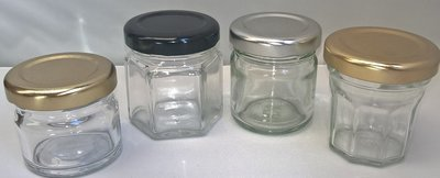 Sample Box 1oz & 1.5oz Round, 1.5oz Hexagonal & 1.5oz Bonne Maman