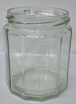 300ml 12oz Dodecagon Jar