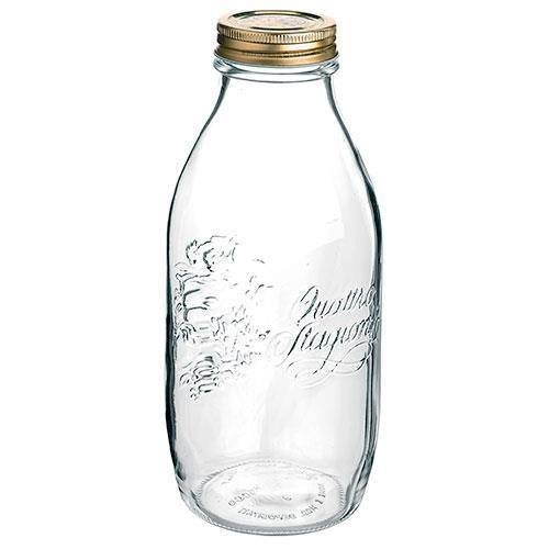 1Ltr Quattro Stagioni Bottle with Gold Lids