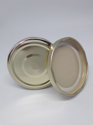 63mm Gold Button Lids