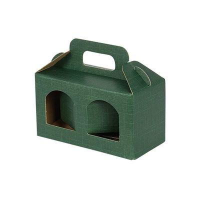 2 Jar Gift Box Green