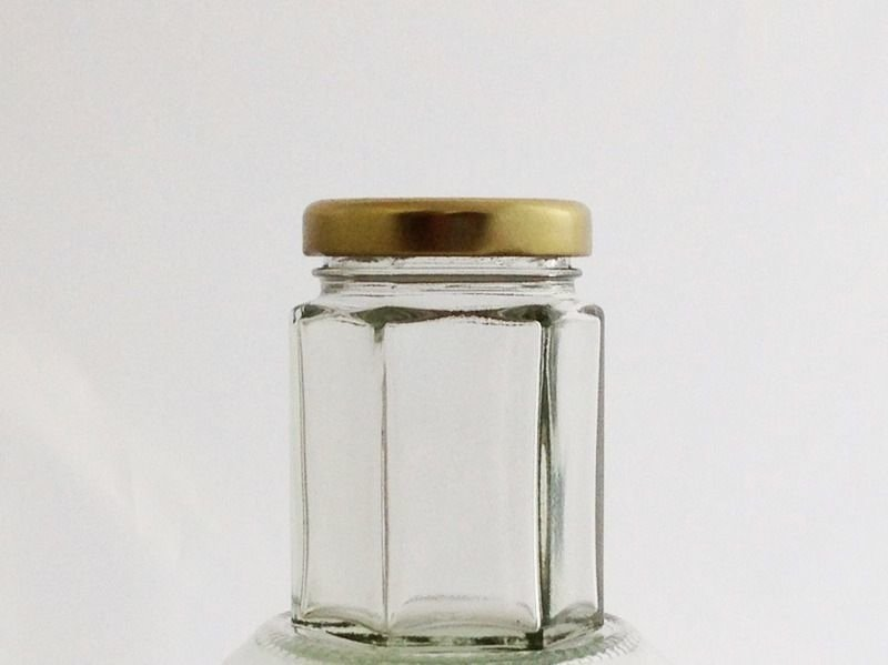 Bulk Buy 55ml 2oz Hexagonal Jar