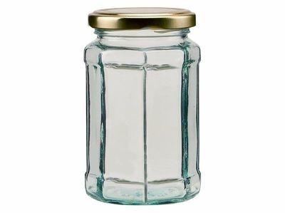 280ml 12oz Octagonal Jar
