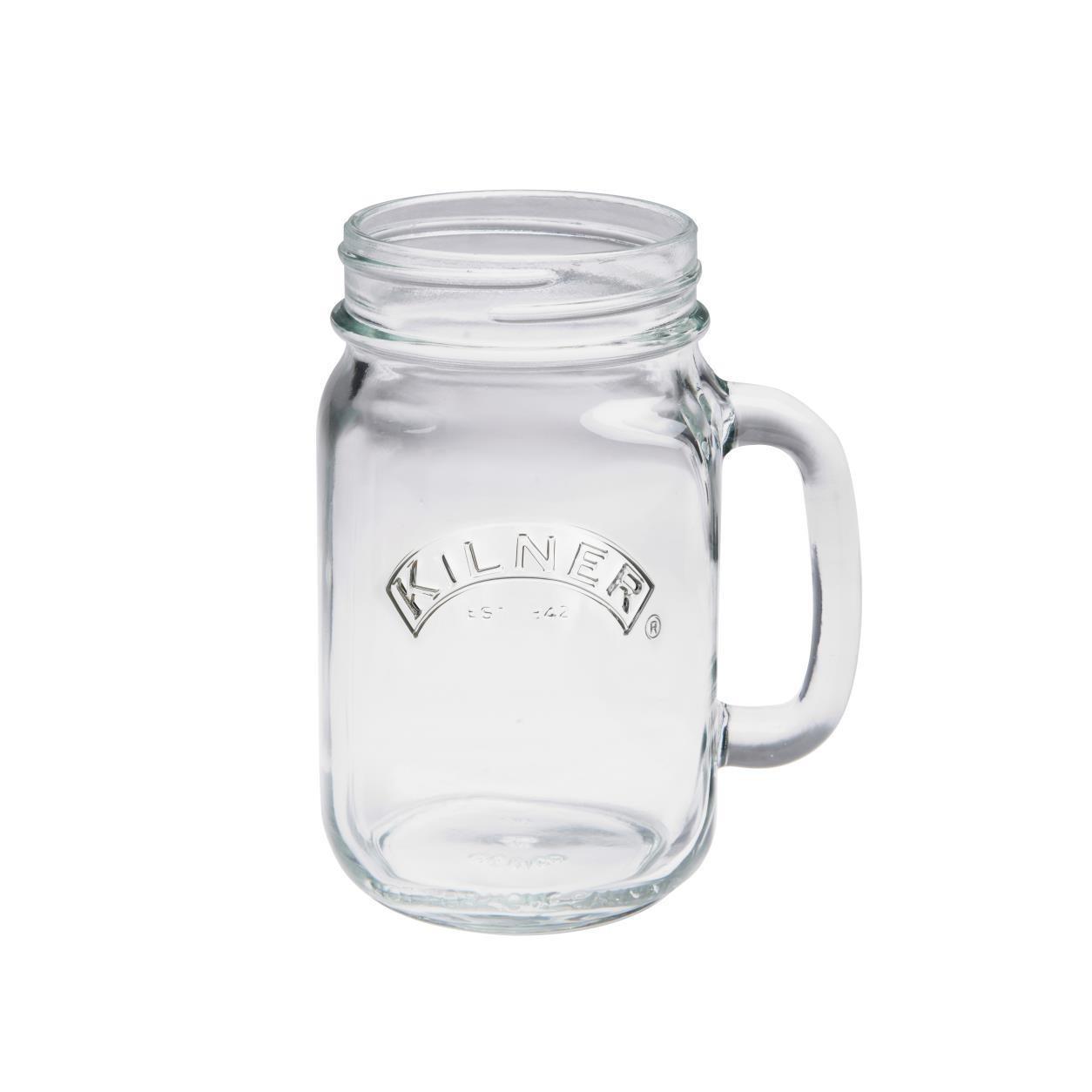 0.4ltr Kilner Clear Handled Drinking Jar
