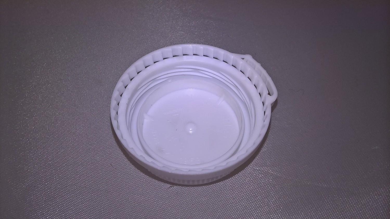 White Caps for Plastic 250ml Bottles
