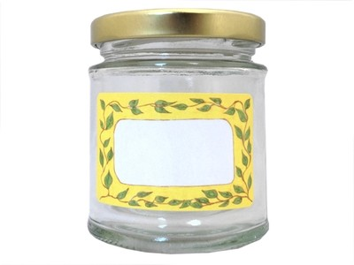 Jam Jar Labels 'Leaf It Out' (3 sheets for the price of 2)