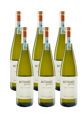 Txakoli AITAKO de Gaintza, 6 botellas
