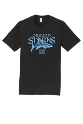 Port & Company® Fan Favorite™ Youth Tee - Blue Shark