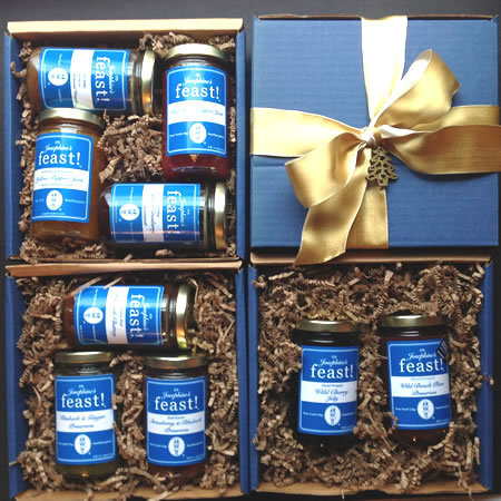 We offer 2, 3 and 4 jar Gift Boxes