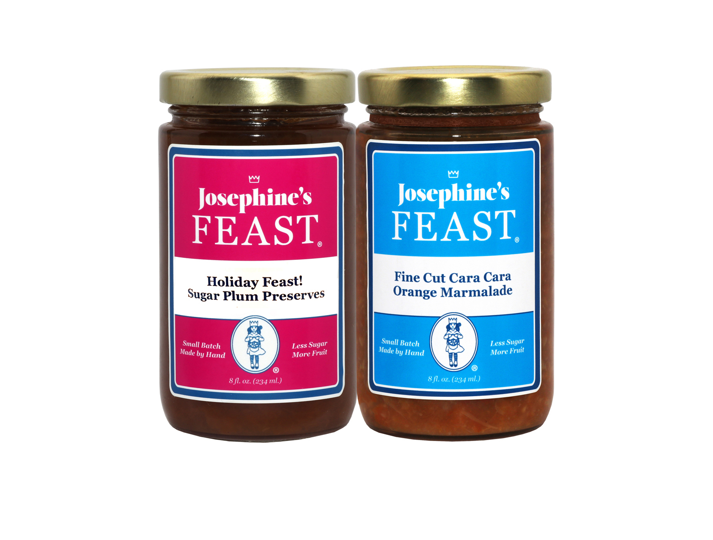 Holiday Feast! Preserve Duo - Real Sugarplum &  Cara Cara Marmalade 0077
