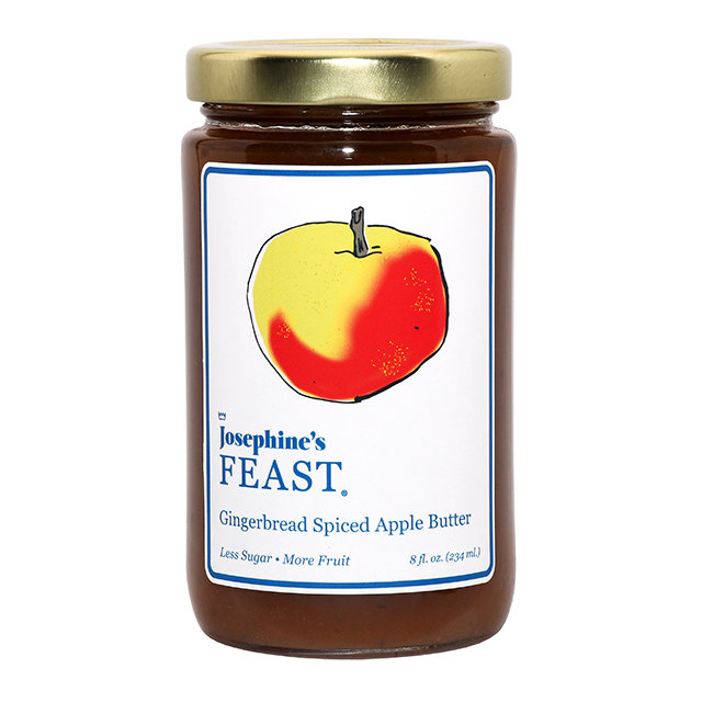 Heirloom Apple Butter with French Gingerbread Spice 8oz 100000000014