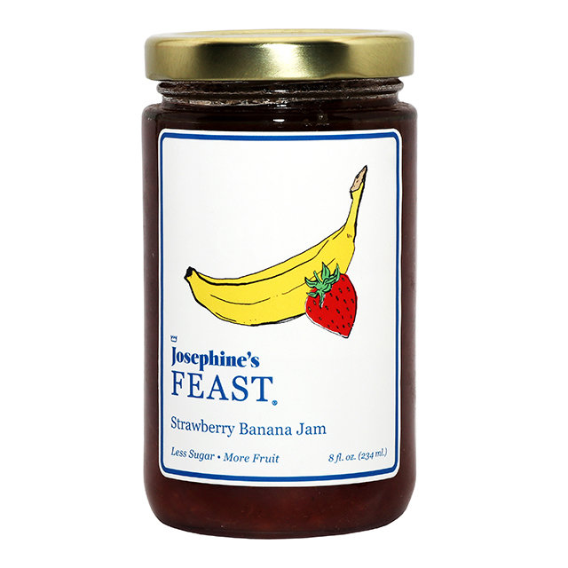Old Fashioned Strawberry & Banana Jam 00034