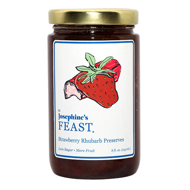 Strawberry & Rhubarb Preserve 100017x