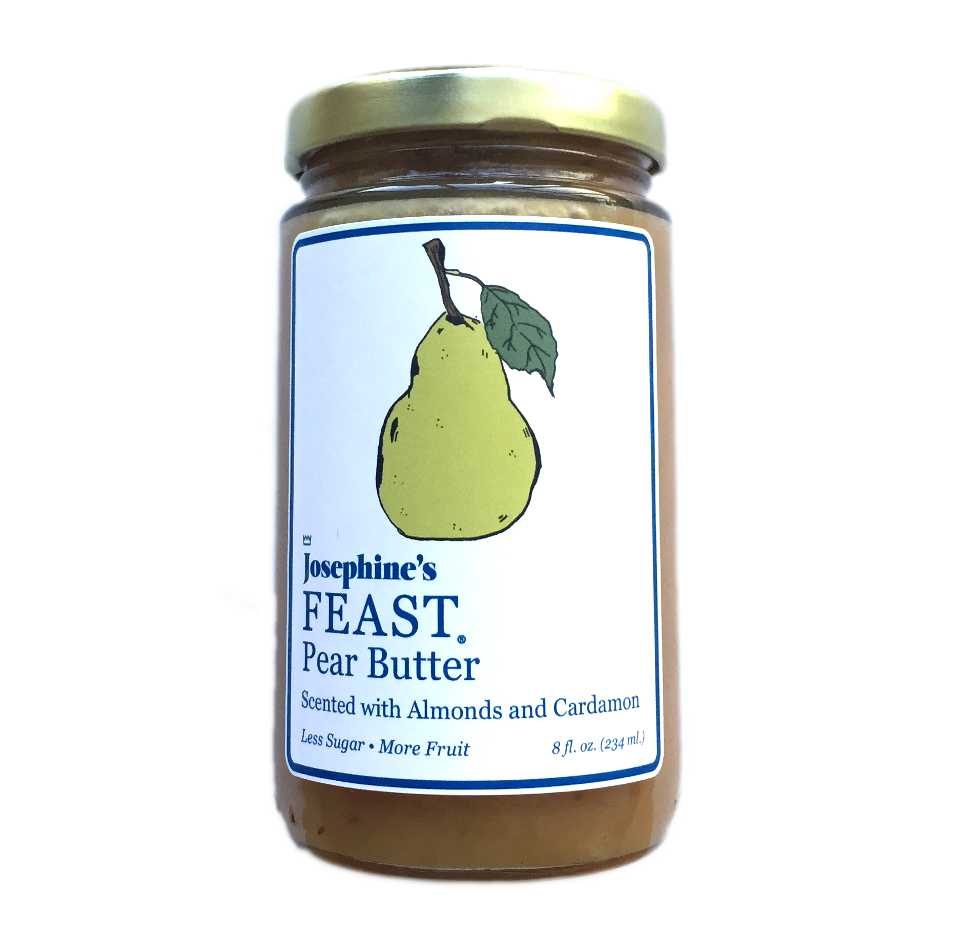Pear Butter scented with Almond and Cardamon 00065
