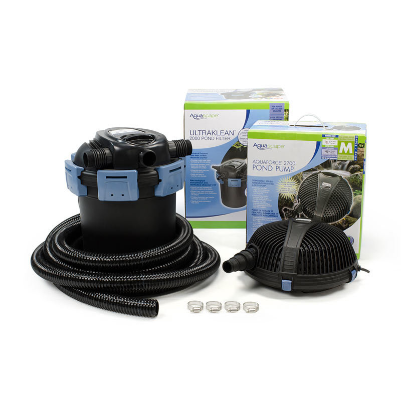 Aquascape UltraKlean 2500 Filtration Kit