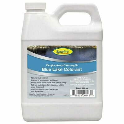 Professional Strength Blue Pond Dye - 1 Quart