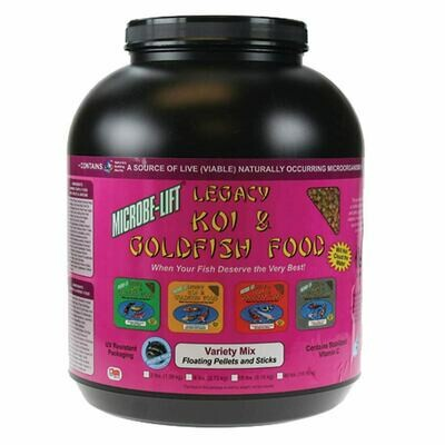 Microbe Lift / Legacy Variety Mix Koi Food - 5 lbs