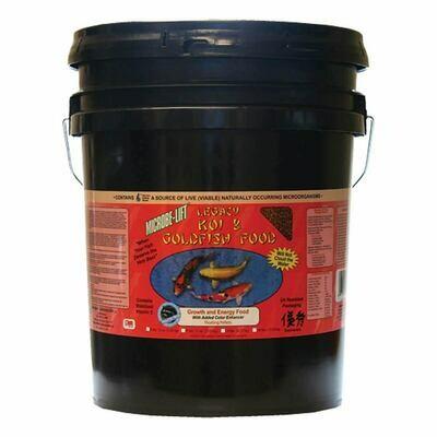 Microbe Lift / Legacy High Growth & Energy Koi Food - Bucket