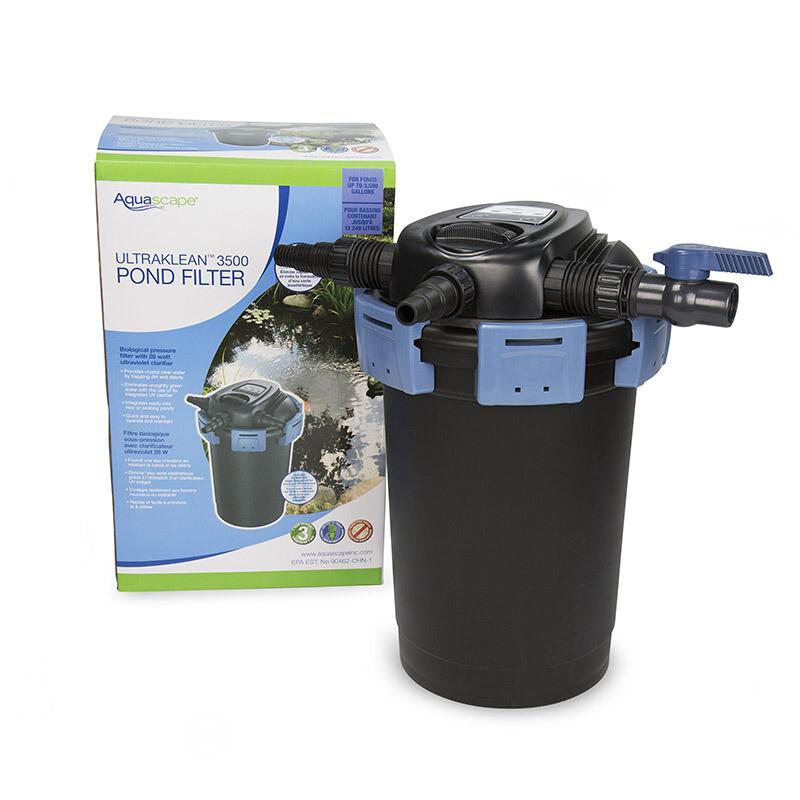 Aquascape UltraKlean 3500 Pond Pressure Filter With UV ...