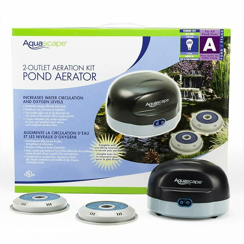 Aquascape 2 Outlet Pond Aerator | Pond Products Canada ...