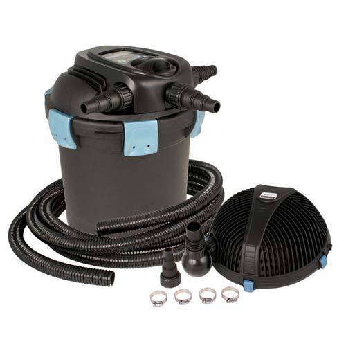 Aquascape ultraklean 1500 filtration kit filter and pump for Koi pond pump and filter kits