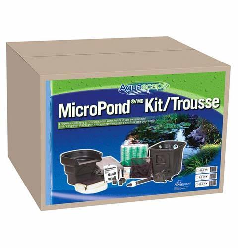 6 39 x 8 39 aquascape diy backyard pond kit aquascape pond for Koi pond products