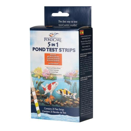 PondCare 5-in-1 Test Strips - 25 Test Strips