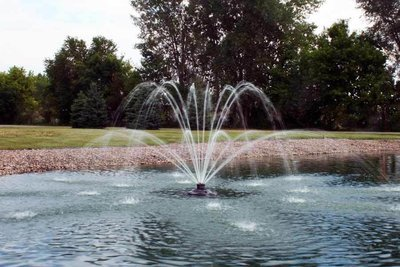 Kasco XStream 1/2 HP Floating Fountain With 100' Cord