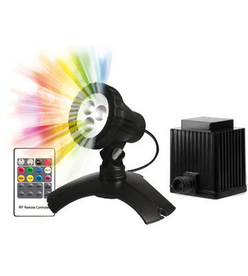 PondMax 2.2W Large LED Colour Changing Light Starter Kit with Transformer
