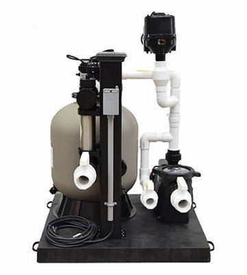 Complete Skid Mounted Filtration System - 3600 Gallons