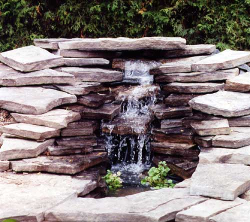16 wide pondless waterfall kit pondless waterfall kits for Pond kits with waterfall